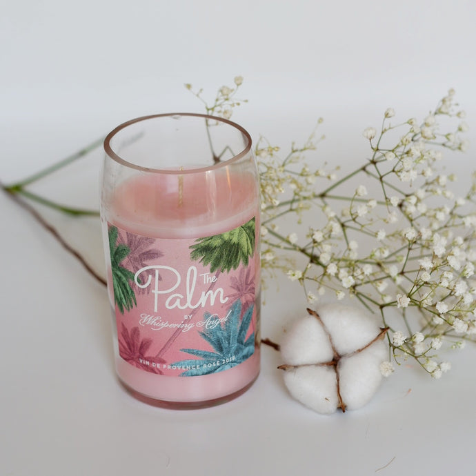Palm Wine Bottle Candle - Candleholic Shop
