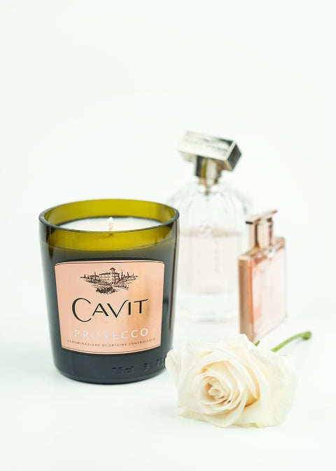 Cavit Champagne Bottle Candle - Candleholic Shop