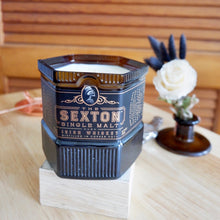 Load image into Gallery viewer, Sexton  Whiskey Liquor Bottle Candle - Candleholic Shop