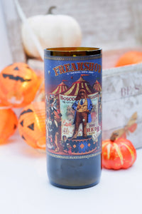 Freakshow Wine Bottle Candle - Candleholic Shop