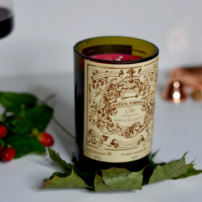 Antica Formula Wine Bottle Candle - Candleholic Shop