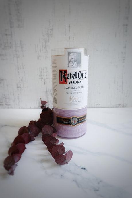 Kettel One Liquor Bottle Vodka Candle - Candleholic Shop
