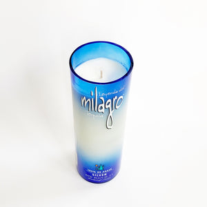 Milagro Tequila Candle in a Liquor Bottle - Candleholic Shop