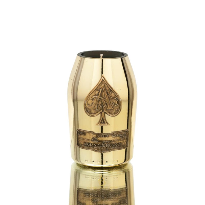 Ace of Spade Champagne Bottle Candle - Candleholic Shop