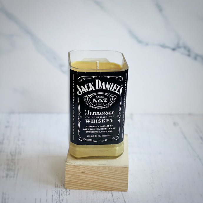 Jack Daniels Whiskey Bottle Candle - Candleholic Shop