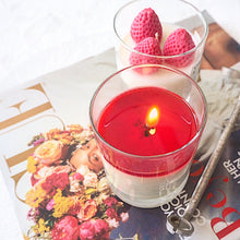 Load image into Gallery viewer, St. Valentine's  Soy Candle with Strawberries - Candleholic Shop