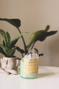 Monkey Shoulder Whiskey Liquor Bottle Candle - Candleholic Shop