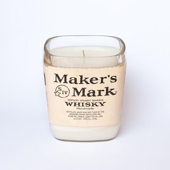 Maker's Mark  Whiskey Bottle Candle - Candleholic Shop