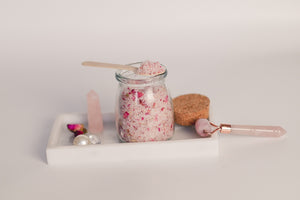 Botanical Bath Salt - Candleholic Shop