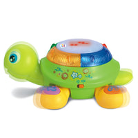 Electric Turtle Children's Educational Toy with Music and Light