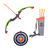 Kiditos Archery Bow and Arrow Strong String Thread Target Board with LED Flashing Light