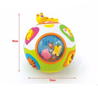 Electrical Happy Ball Baby Early Developing Exercise Musical Toy