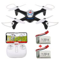 Syma X15W WiFi FPV Camera RC Drone Altitude Mode APP Control Quadcopter - Kiditos