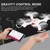 Syma X23W WiFi FPV Camera RC Drone Altitude Mode APP Control Quadcopter - Kiditos