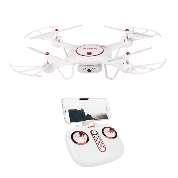 Syma X5UW-D (720P) FPV Camera RC Drone Altitude & Optical Flow Mode App Control Quadcopter - Kiditos