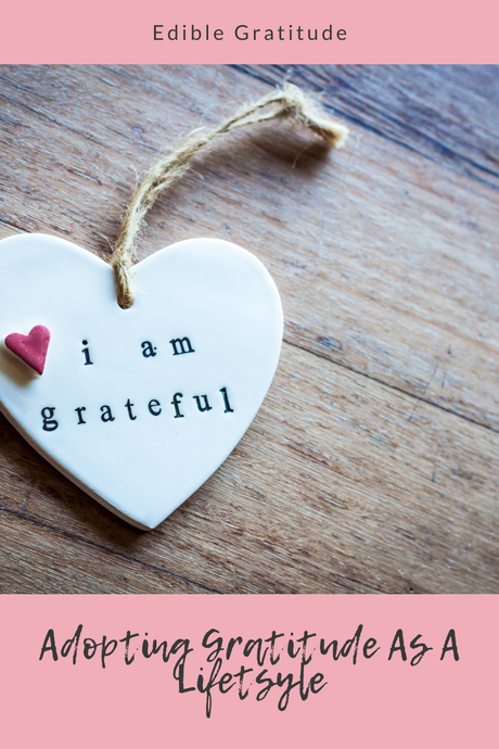 Adopting Gratitude As A Lifestyle