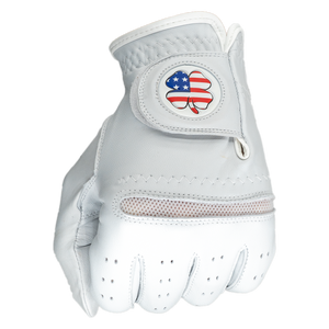 Four Leaf Clover Golf Glove & Matching Ball Marker