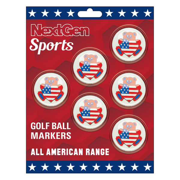Teddy Bear Ball Markers