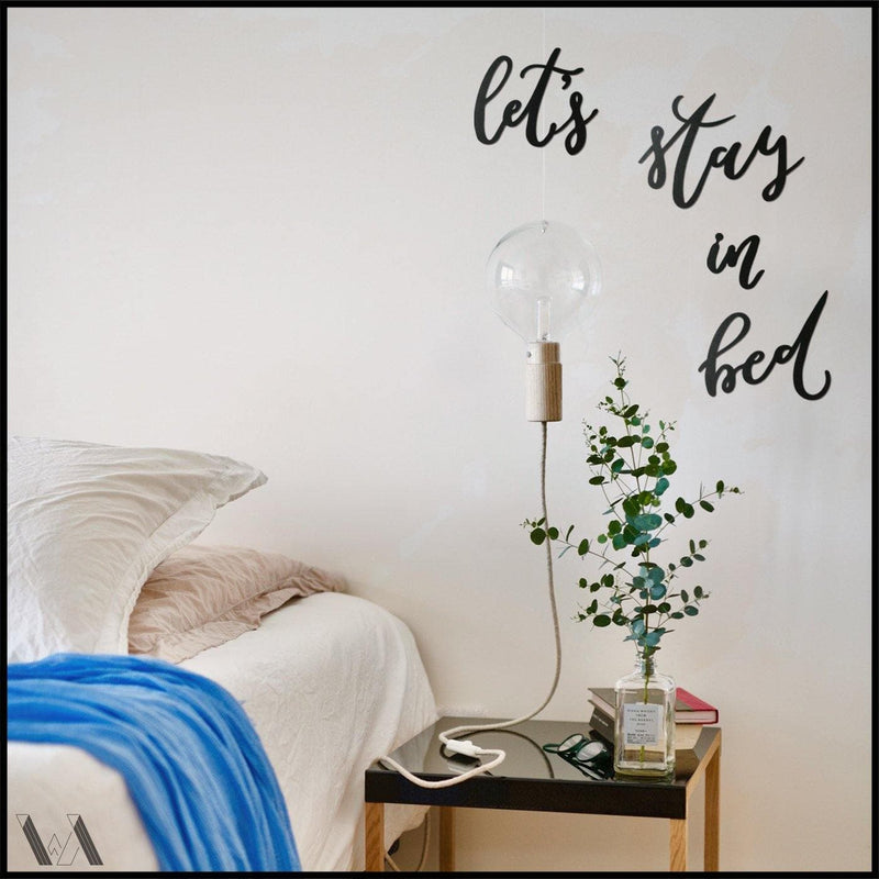 Let's Stay in Bed - Welter Atelier-EU/US