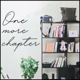 One More Chapter - Welter Atelier-EU/US