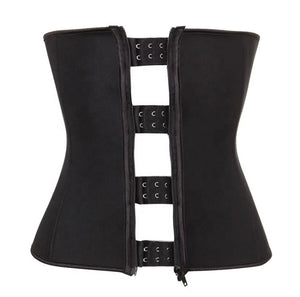 FRONT ZIPPER & HOOK WAIST TRAINER #006