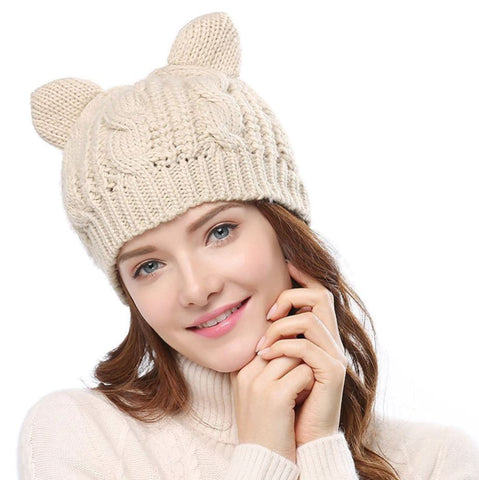 Bonnet Chat Fille
