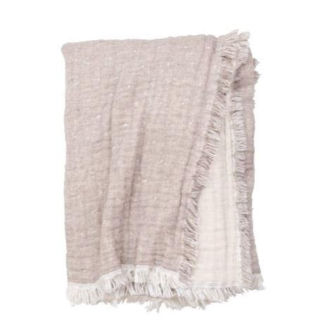 Cozi Throw Taupe/Natural