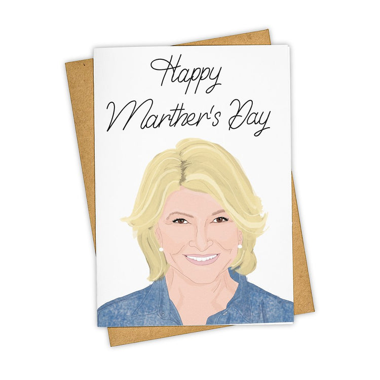 Martha Stewart Mother's Day Greeting Card
