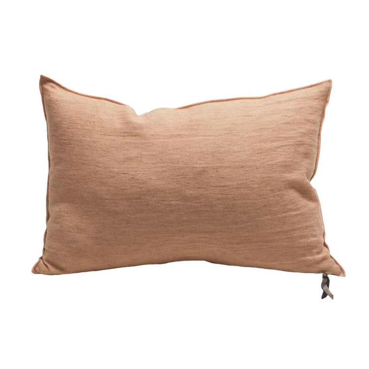 MDV | Crumpled Washed Linen, Terracotta Givre