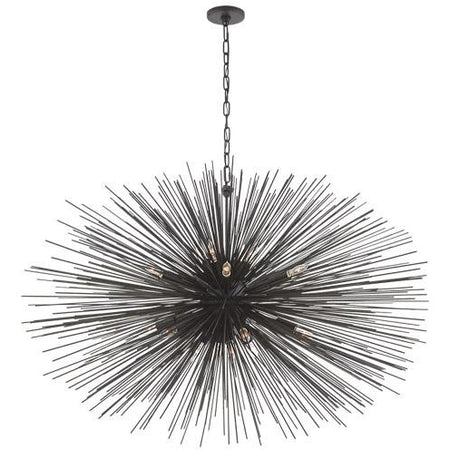 Strada Large Oval Chandelier