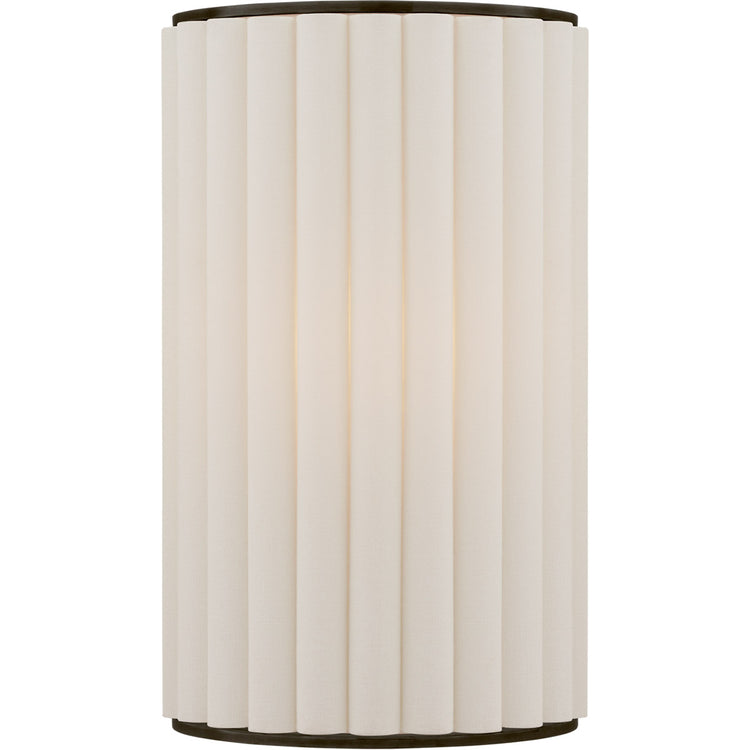 Palati Wall Sconce with Linen Shade