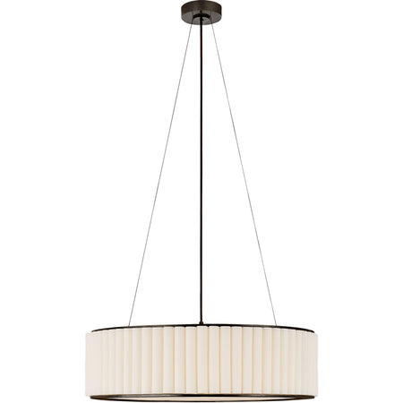 Palati Ceiling Light with Linen Shade