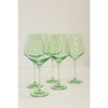 Estelle Wine Glass, Set of 6 (Mint Green)