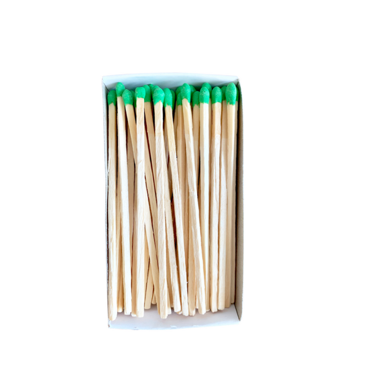 "Green 4"" Matchsticks"