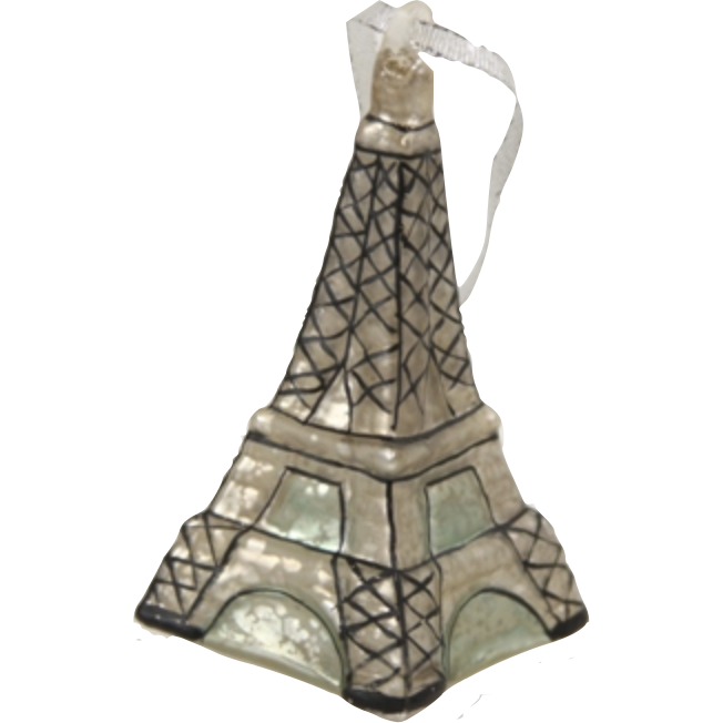 Eiffel Tower Ornament