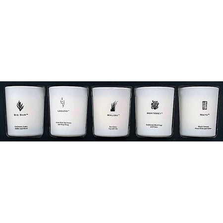California 5 Piece Votive Set