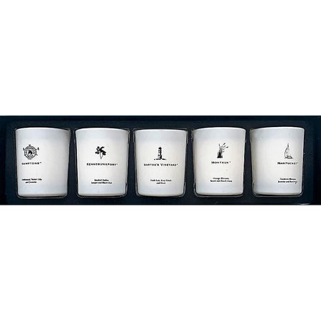 Northern Shoreline 5 Piece Votive Set