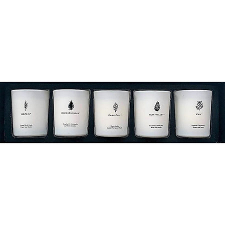 Mountain 5 Piece Votive Set