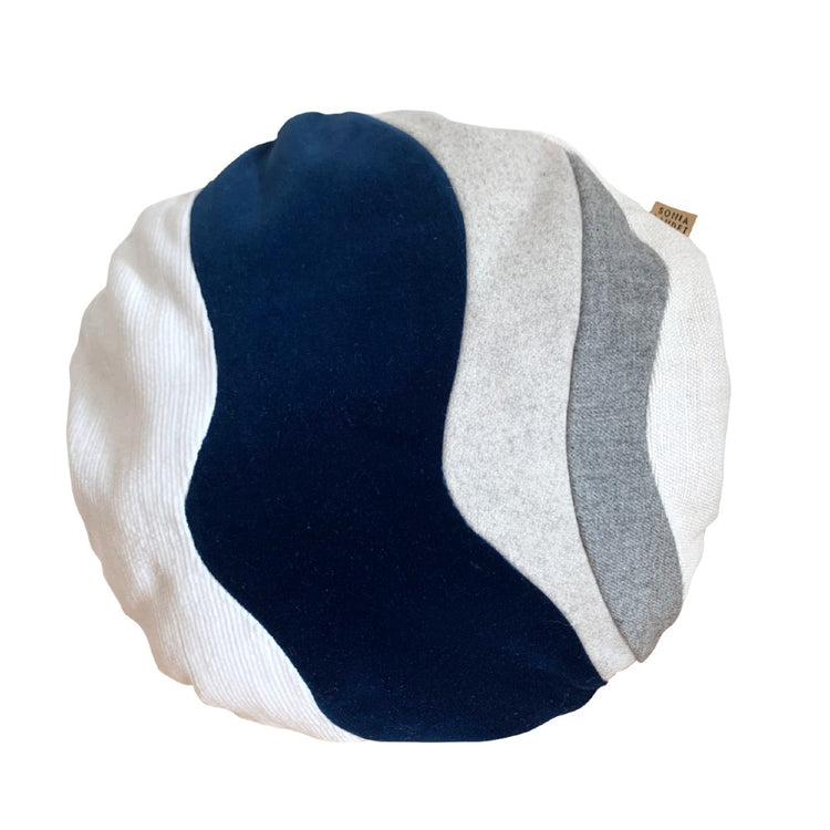 Laudet Navy Pillow