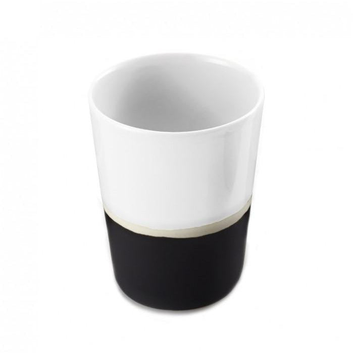 Striped Cup - Black/White
