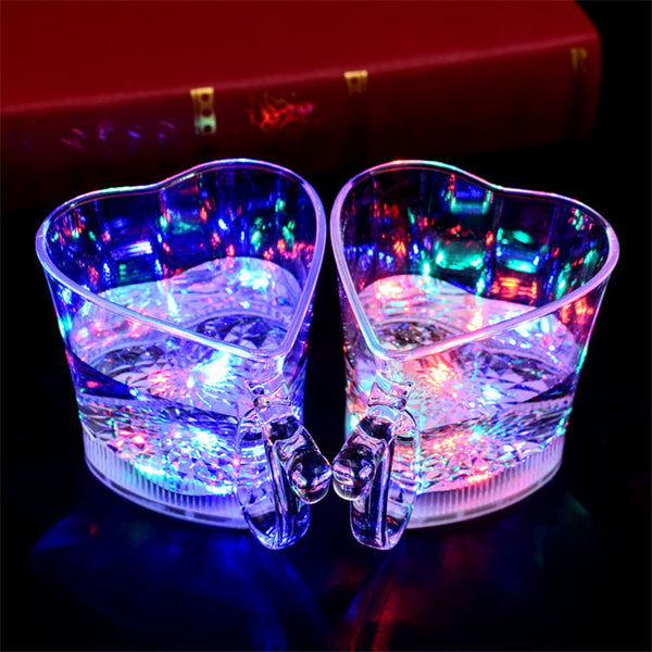 Flashing water cup led lamp induction flashing water cup