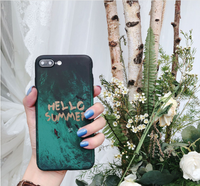 Summer explosion simple fruit phone case