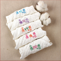 Embroidered cotton six-layer baby embroidery saliva towel