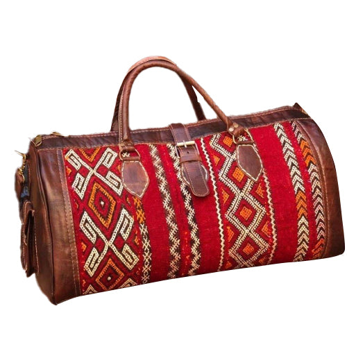 Moroccan Kilim Travel bag Ian