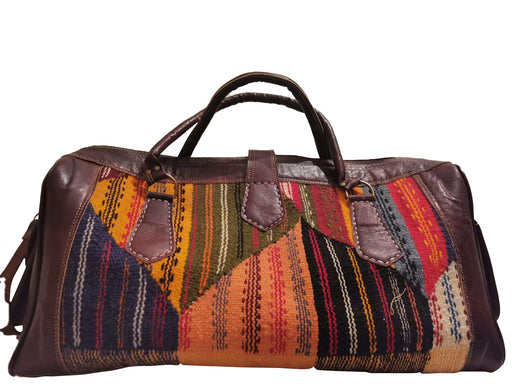 Moroccan Kilim Travel bag Bob