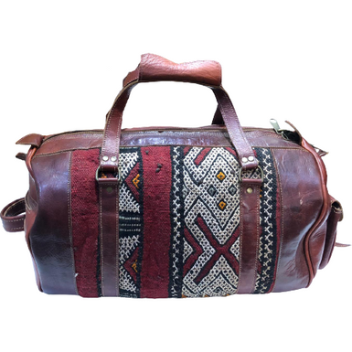 Moroccan Kilim Travel bag Taylor
