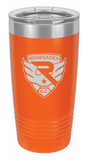 20oz Insulated Tumbler Crest