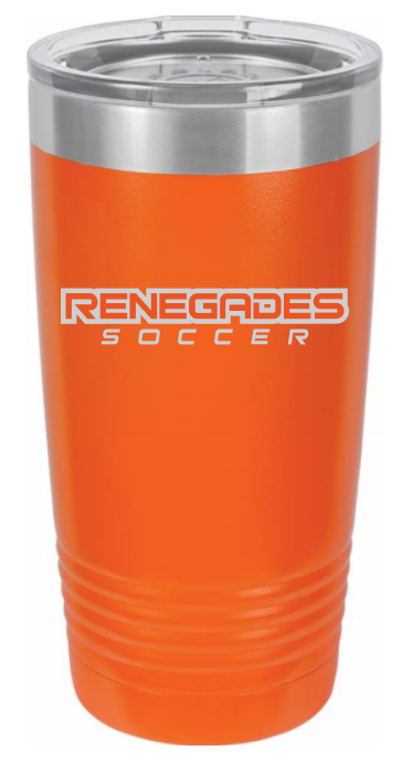 20oz Insulated Tumbler Text