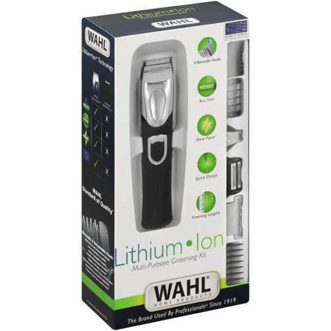 WAHL Multi Purpose Grooming Kit Lithium Ion Rechargeable Trimmer