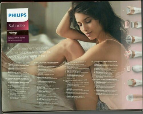 Philips Satinelle Prestige 7 in 1 body and face care hair removal